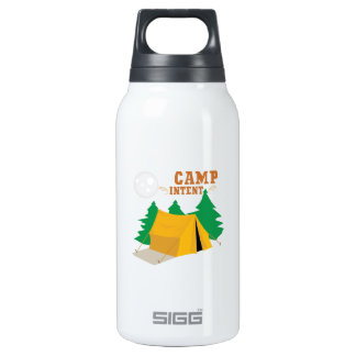 Camp Intent 10 Oz Insulated SIGG Thermos Water Bottle