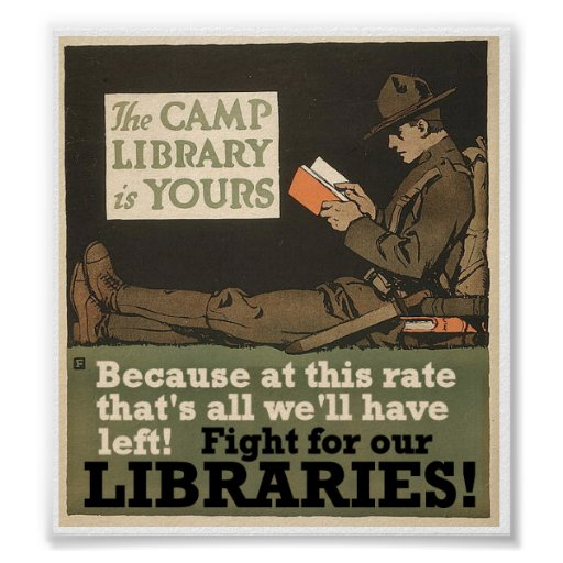 Camp libraries poster
