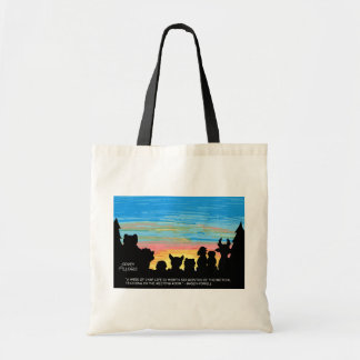 Camp Life Tote Bag