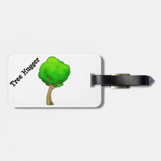 Camp Mars - Tree Hugger Luggage Tag