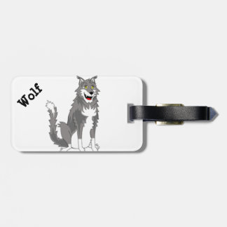 Camp Mars - Wolf Luggage Tag