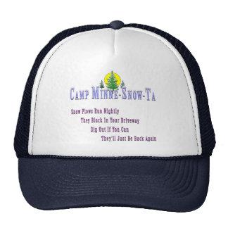 Camp Minne-Snow-Ta Snow Plow Trucker Hat