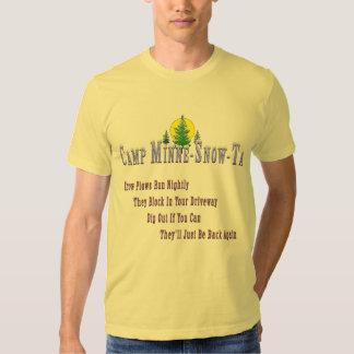 Camp Minne-Snow-Ta Snow Plow shirt