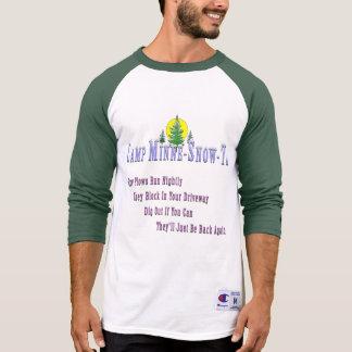 Camp Minne-Snow-Ta Snow Plow T-Shirt