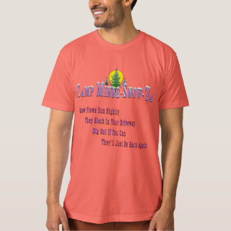 Camp Minne-Snow-Ta Snow Plow Tee Shirt