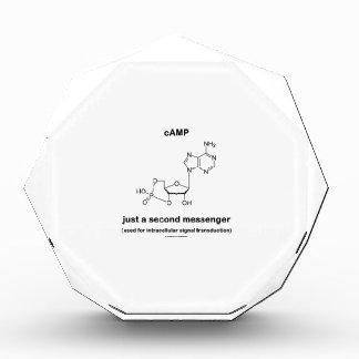 cAMP Molecule Just A Second Messenger Acrylic Award