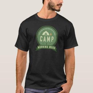 CAMP MORNING WOOD Dark T-Shirt