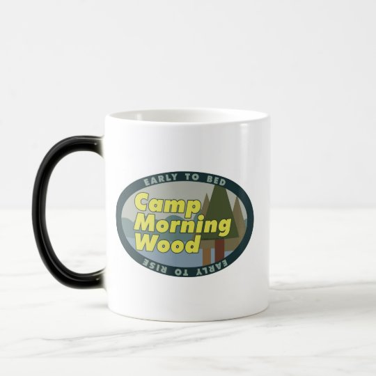 Camp Morning Wood drinkware 2 Magic Mug