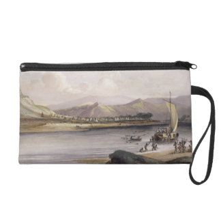 Camp of the Gros Ventres of the Prairies on the Up Wristlet Purse
