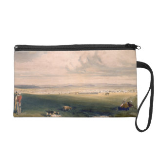 Camp of the Light Division, plate from 'The Seat o Wristlet Purse
