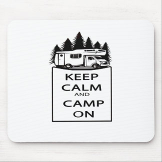 Camp On Collection Mouse Pad