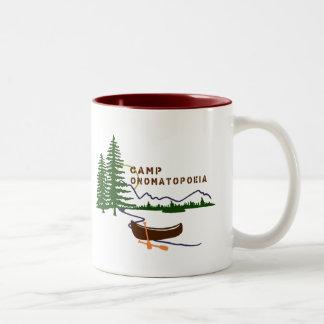 Camp Onomatopoeia Mug