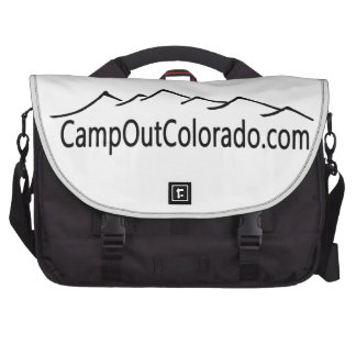 Camp Out Colorado Laptop Bags