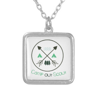 Camp Out Scout Custom Jewelry