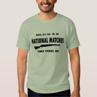 Camp Perry National Matches M1 Garand Tee Shirt