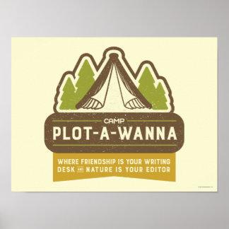 Camp Plot-A-Wanna Poster