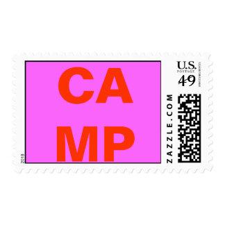 CAMP POSTAGE STAMP