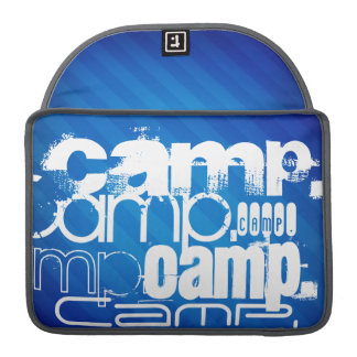 Camp; Royal Blue Stripes MacBook Pro Sleeve