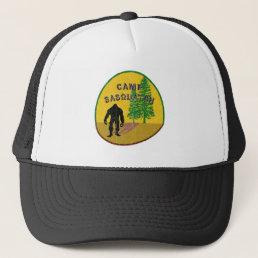 camp sasquatch apparel trucker hat