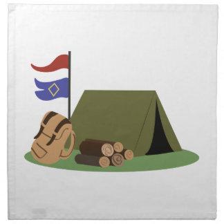 Camp Site Cloth Napkin