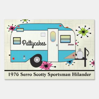 CAMP SITE SIGN | Scotty Camper | Personalize It!