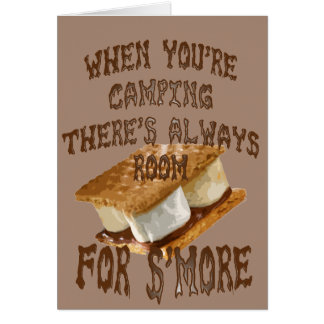 Camp Smores Greeting Card