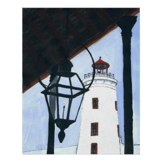Camp St. Light House Poster