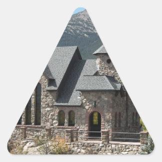 Camp St Milo Triangle Sticker