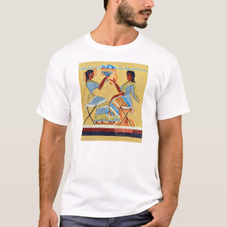camp stool fresco priestesses talking replica anci T-Shirt