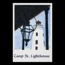 Camp Street Light House posters