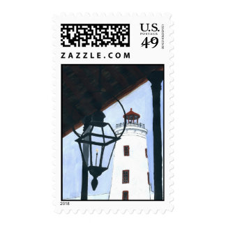 Camp Street Lighthouse Postage Stamp