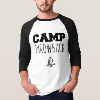 Camp Throwback Logo Men's 3/4 Sleeve Shirt