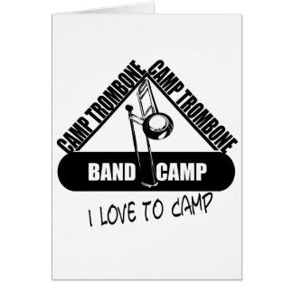 Camp Trombone Card