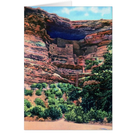 Camp Verde Arizona Montezuma's Castle Card