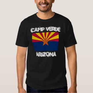 Camp Verde, Arizona with Arizona State Flag Shirt