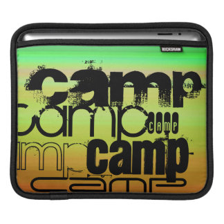 Camp; Vibrant Green, Orange, & Yellow Sleeves For iPads
