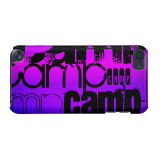 Camp; Vibrant Violet Blue and Magenta. iPod Touch 5G Case
