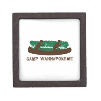 Camp Wannapokeme Keepsake Box
