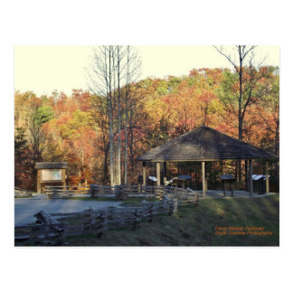 Camp Wildcat Civil War Battlefield site Postcard