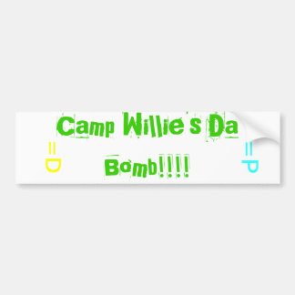 Camp Willie Bumper Stickers
