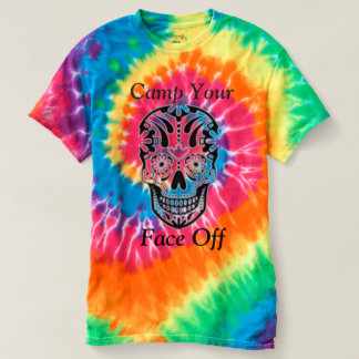 Camp your face off! t-shirt