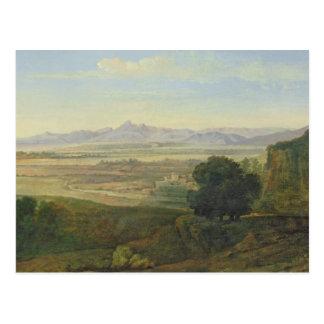 Campagna Landscape Postcard