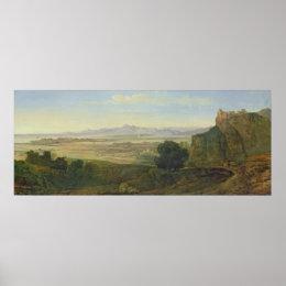 Campagna Landscape Poster