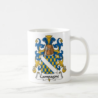 Campagne Family Crest Coffee Mug