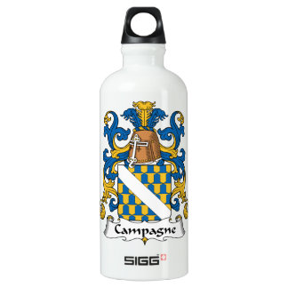 Campagne Family Crest Water Bottle