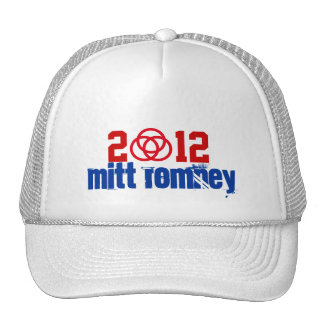 Campaign 2012 Mitt Romney Symbolic Support Hat
