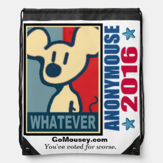 Campaign 2016 Whatever Drawstring Backpack
