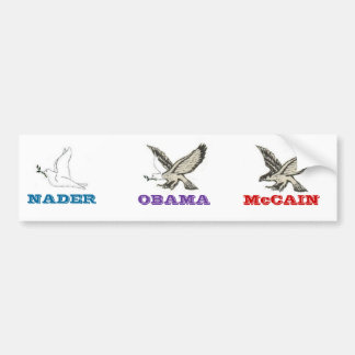 Campaign Aviary Bumpersticker Bumper Sticker