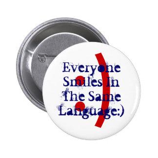 Campaign Button to Spread Acceptance via Emoticons