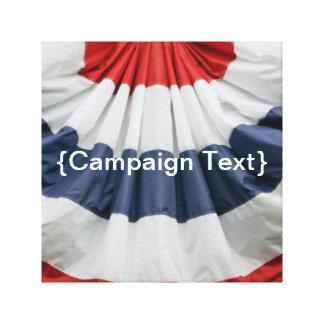 Campaign Canvas Print